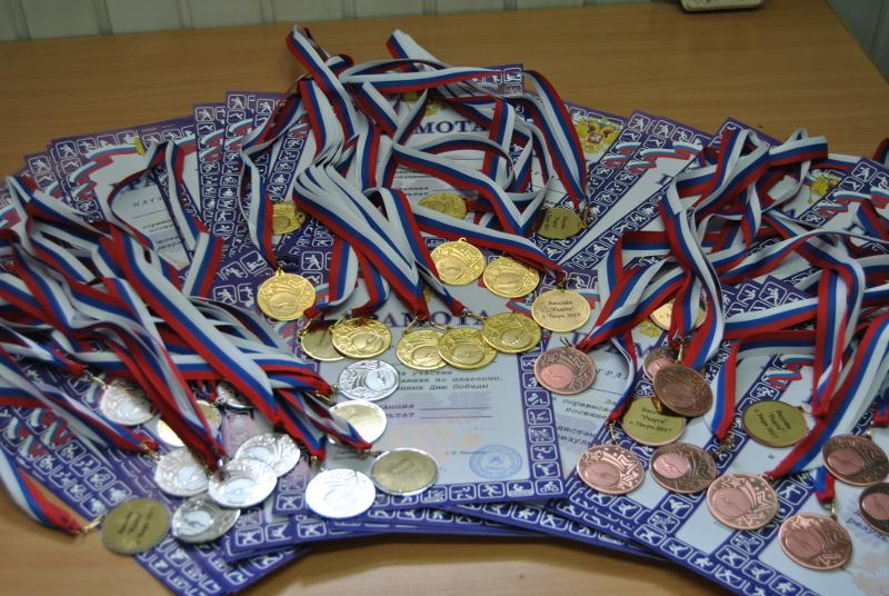 Соревнования по плаванию, посвященные Дню Победы, проходящие в АНО ФКиС